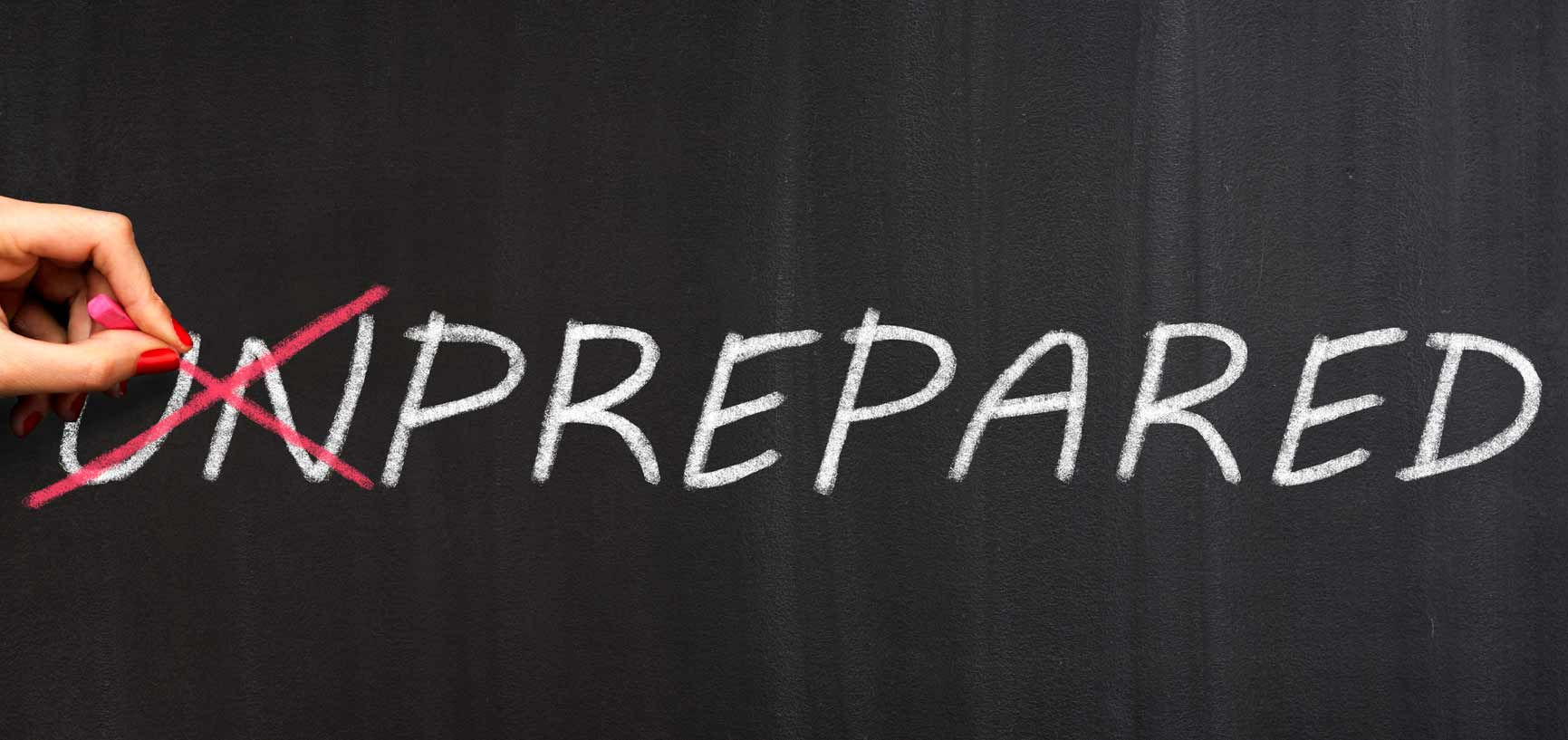 Why You Must Prepare