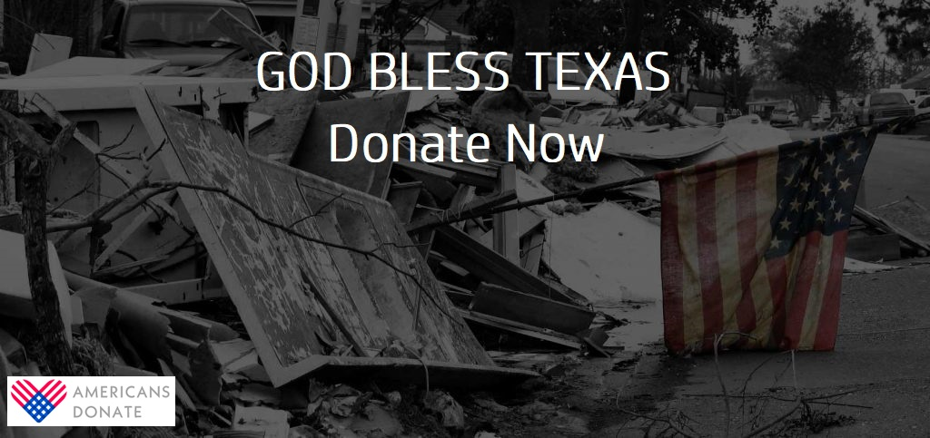 Share Some California Love with Victims of Hurricane Harvey